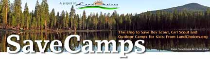 SaveCamps.org blog